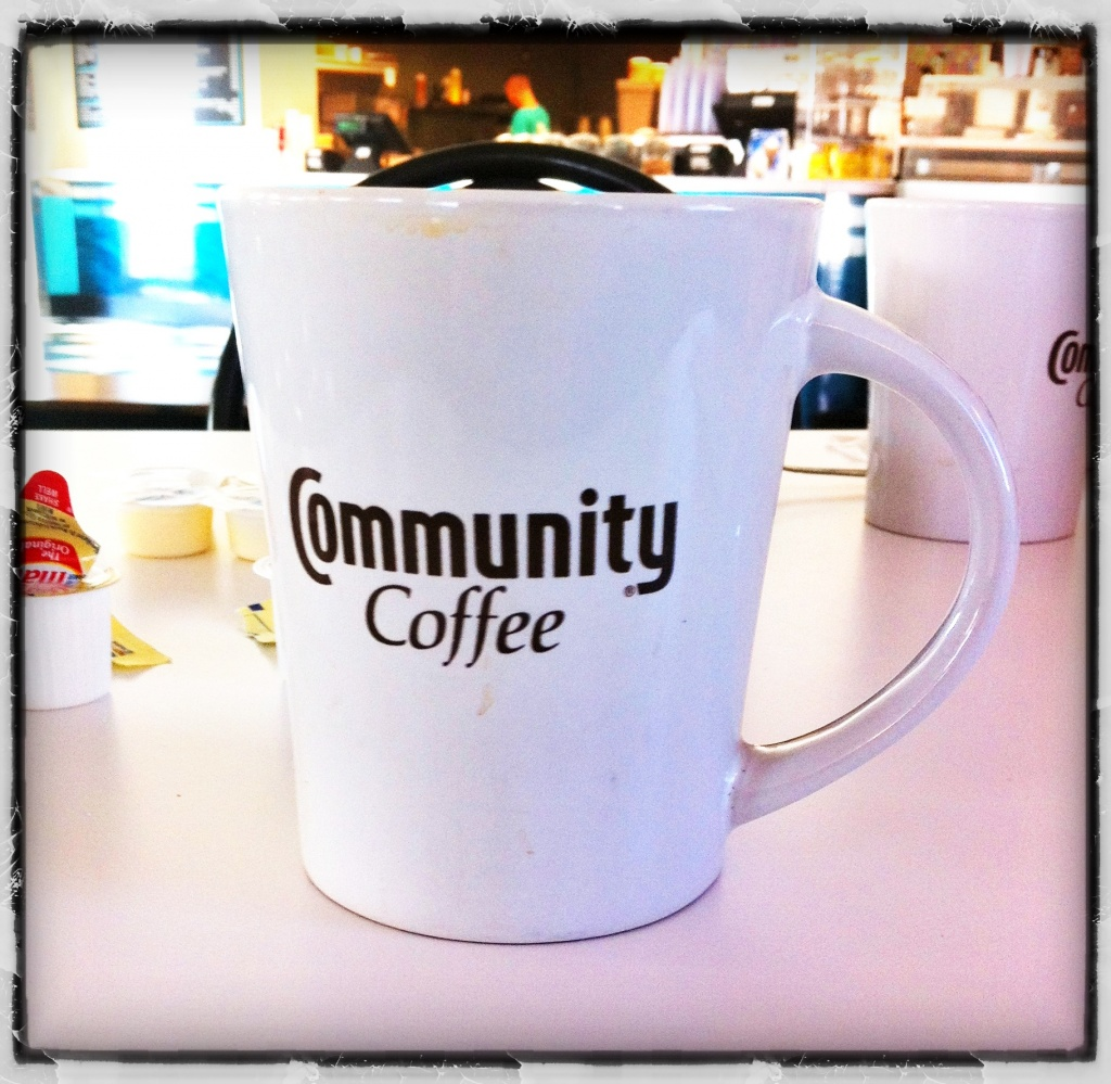 Community Coffee Mug at the Frostop