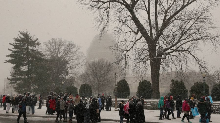 March for Life disperses